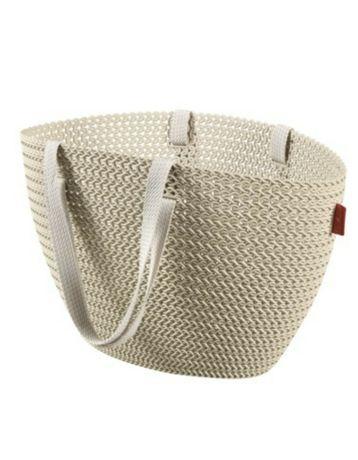 Koszyk na zakupy, plażę, torba Curver Knit