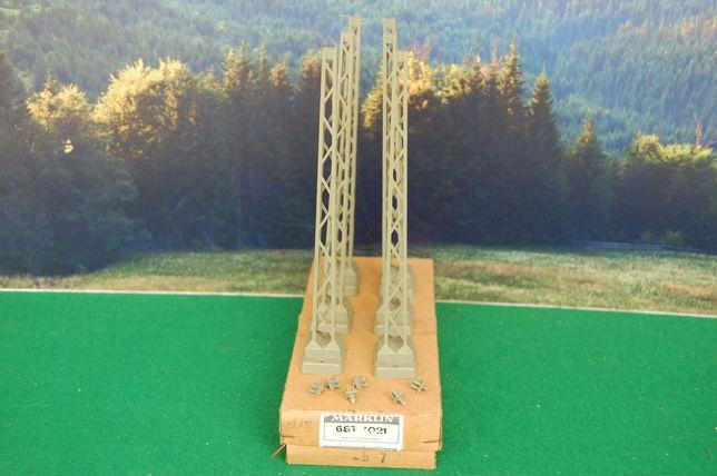 Marklin - postes torre para catenárias, artigo 7021, em caixa original