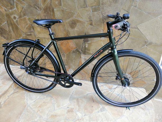 Велосипед туринг Bulls Alfine 11 ремень carbon drive cube scott