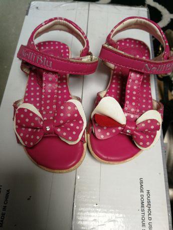 Sandały dla dziewczynki rozm 25