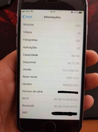 Iphone 6s 64Gb desbloqueado