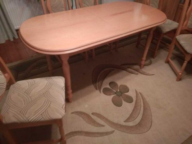 Stół + 6 krzeseł TRANSPORT.