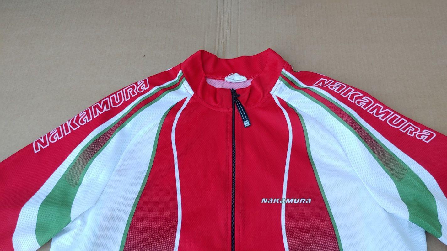 Nakamura koszulka rowerowa M/L dry- plus