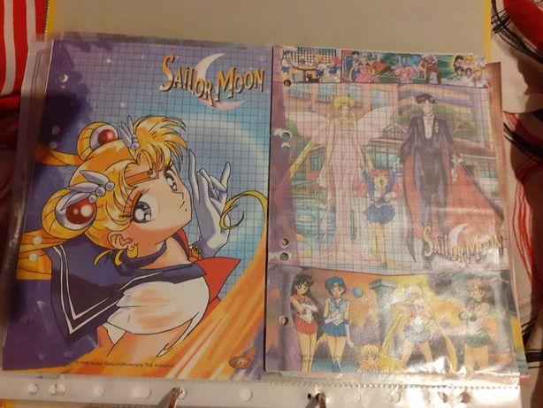 Sailor moon karteczki, kolekcja