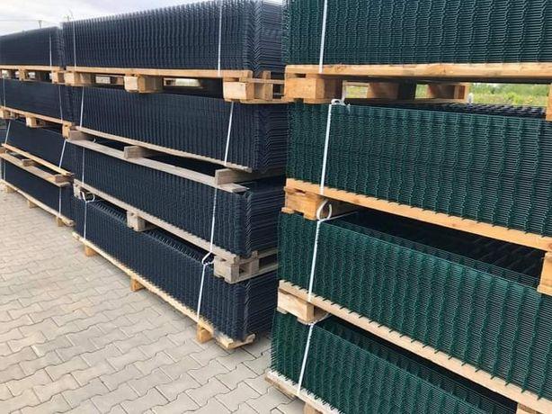 Ogrodzenie panelowe Fi4 1230x2500 plus podmurówka