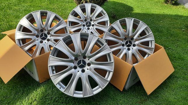 Alufelgi 5x112 r18 Mercedes Jak Nowe Okazja!!!