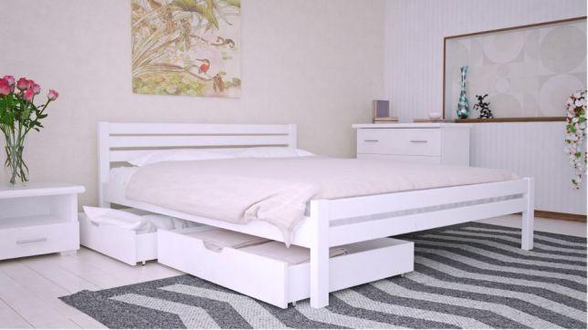 Кровать Односпальная Двуспальная Массив Ортопедическая Кровать Акция