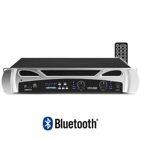 Końcówka mocy,wzmacniacz VONYX VPA300 BT/USB/SD Sklep Wągrowiec