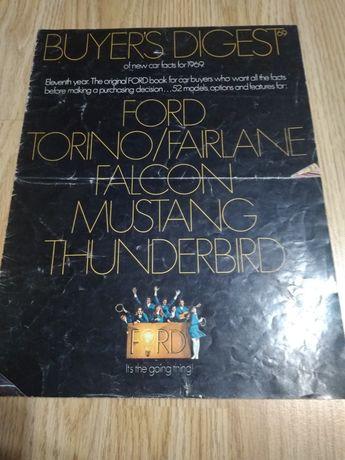 Prospekt Ford Torino/Fairlane,  Falcon, Mustang,  Thunderbird