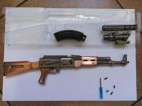 Модель автомата, оружия. Pubg ak 47, aug, barret, брелок