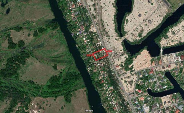 Продам участок 43сотки + дом 524м Козин, Дамба 8км, Конча-Заспа