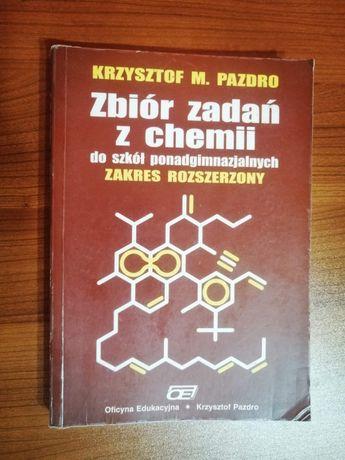 Zbiór zadań z chemi Pazdro-zakres rozszerzony