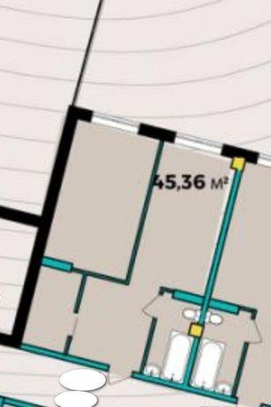 Дешевле нет! 1комн квартира 45м2 новострой Центр без комиссии!