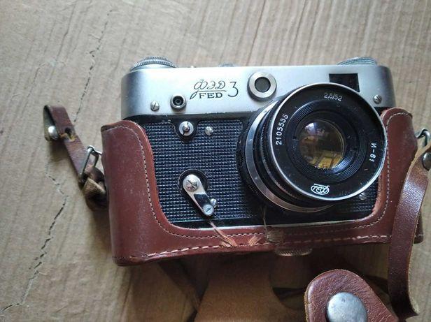 Фотоаппарат ФЭД 3   FED советский дальномерный плёночный