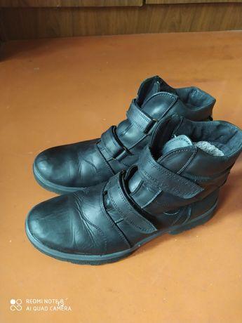 Сапоги, Ботинки зима натуральная кожа 39