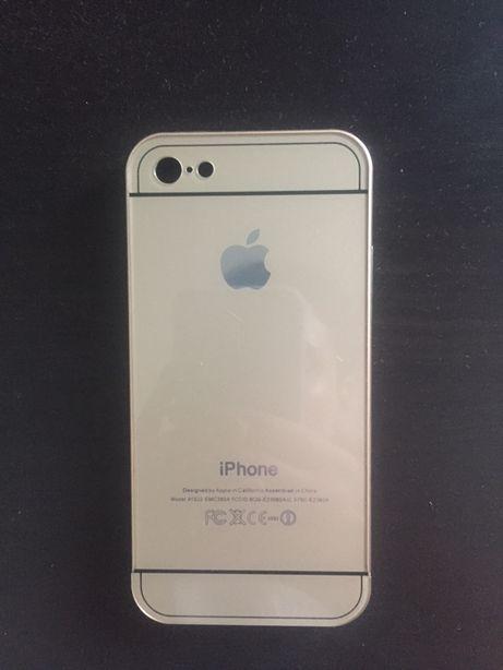 Capa Iphone 5 dourada