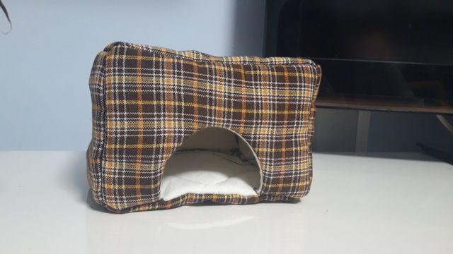 Domek kryjówka dla chomika gryzonia myszy handmade