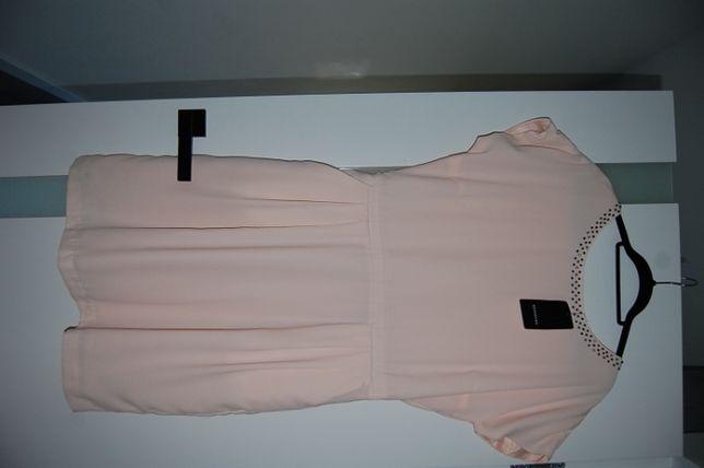 Sukienka Reserved r 44 nowa metka pudrowy