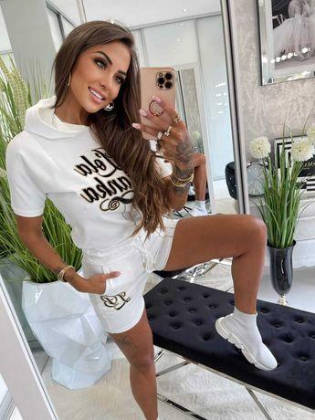 Komplet dresowy spodenki i bluza Lola Bianka