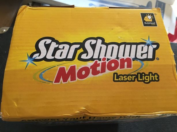 Лазерный проектор Star Shower Motion Laser