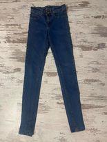 spodnie jeansowe niebieskie