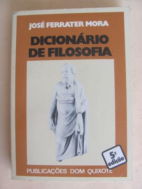 Dicionário de Filosofia de José Ferrater Mora