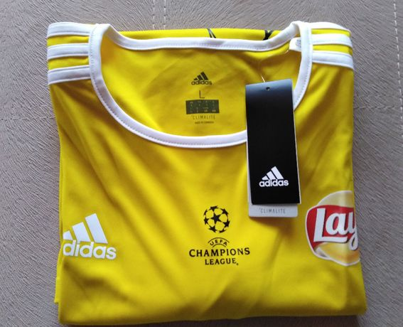 Adidas Koszulka UEFA CHAMPIONS LEAGUE, z logo Lays, rozmiar L