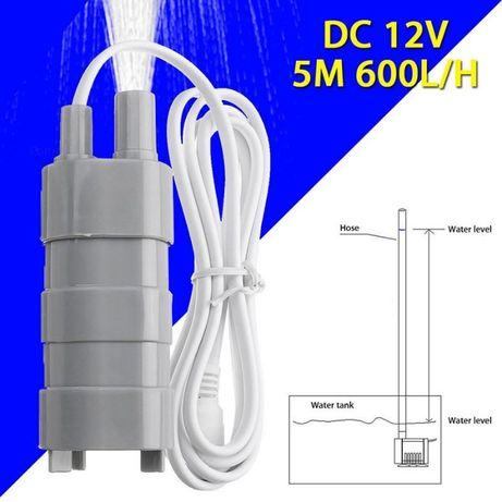 Насос погружной помпа компактный Jt-500 Dc 12V для воды