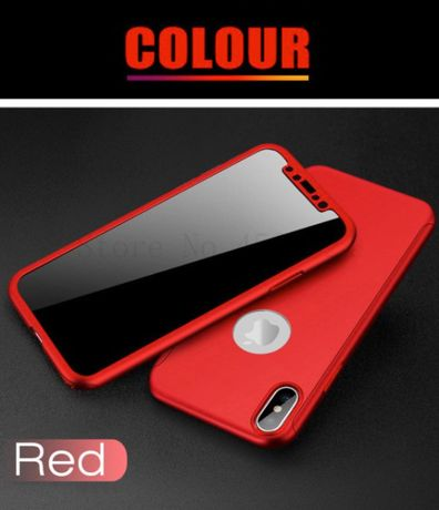 360 Pełna Ochronne Etui Telefon iPhone 5, 5S, SE + ETUI