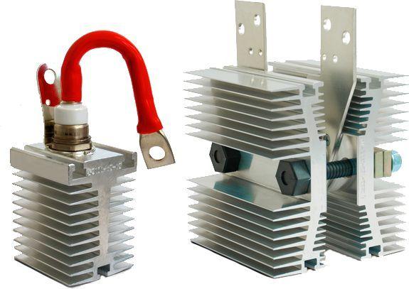 Силовые тиристоры, диоды, модули и охладителей