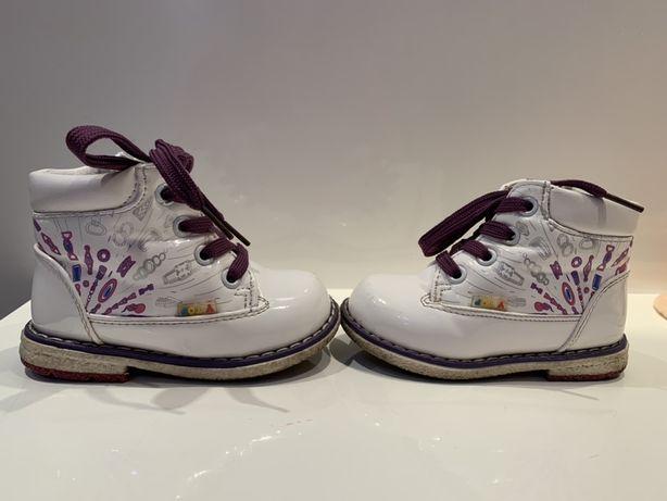 Демисезонные ботинки ботиночки для девочки Y-top