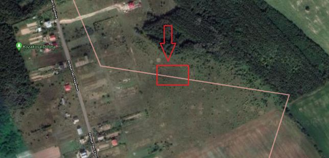 Земельна ділянка 0,25 га урочище «Могила», село Колодіївка