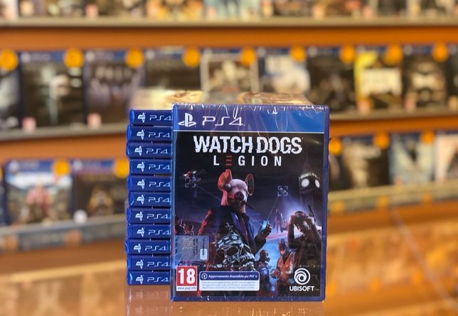 Watch Dogs Legion / Nowa / Ps4 / PS5 / Sklep Gamebox / Wymiana Gier