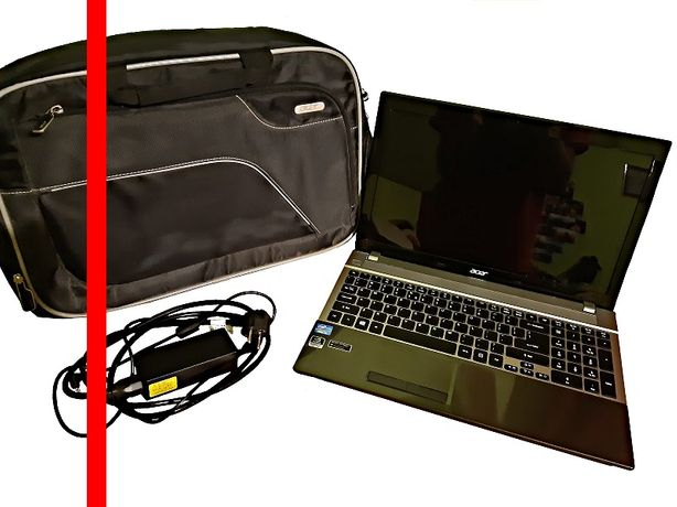 >Laptop ACER V3-571G (i5-3210M, 8GB RAM, dysk SSD) notebook, kompute