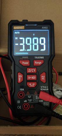 Multimetr miernik aneng an82 jak q1 NCV+LED