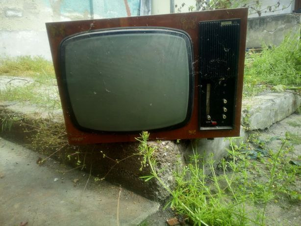 Telewizor z PRL, zabytek