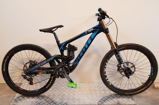 rower Scott Gambler Fox 40 DHX4 Saint Zee DH FR zjazdówka freeride