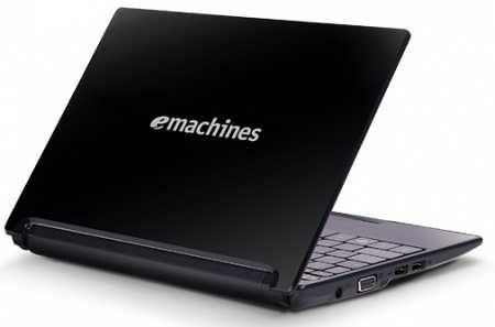"""Laptop Acer eMachines 355 10,1"""" Intel Atom N570 - 2GB RAM - 500GB Dysk"""