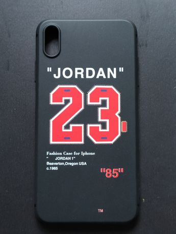Capa iPhone XS Max Jordan