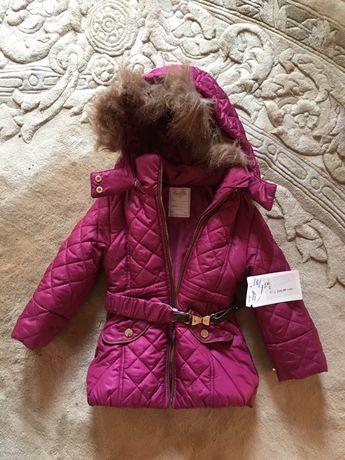 Новая куртка на девочку 92-104 рост mayoral