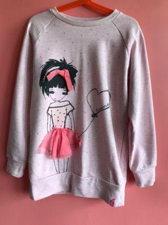 Dziewczęca bluza marki Reserved rozm. 140cm