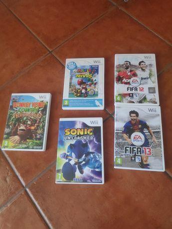 Acessórios e jogos para Wii