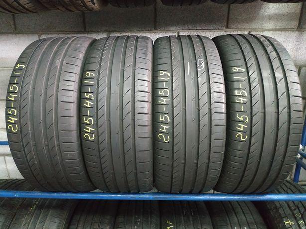 Літні шини 245/45 R19 (98W) CONTINENTAL