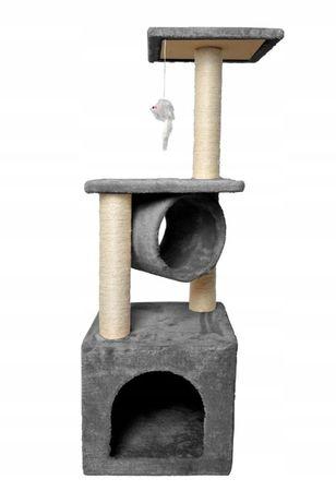 Nowy Drapak dla kota drzewko legowisko Domek 90cm Nowe inne wzory DPD