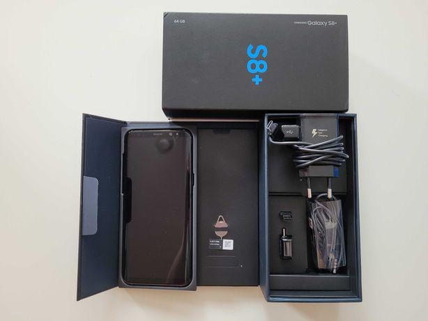 Samsung S8+ PLUS Stan Idealny Pełny Komplet Nowa Bateria, Szkło i Etui