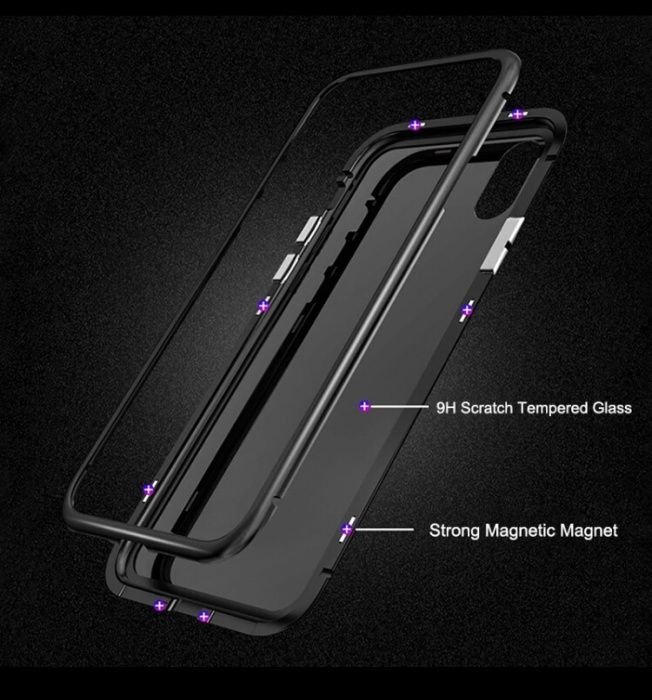 Capa Magnética iPhone 6/7/8 e iPhone X