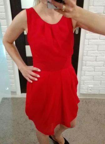 Sukienka czerwona 34 xs Asos