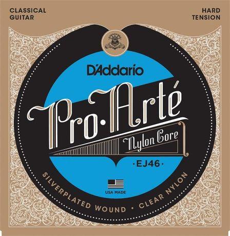 Struny do gitary klasycznej D'Addario Pro Arte EJ46 (hard tension)