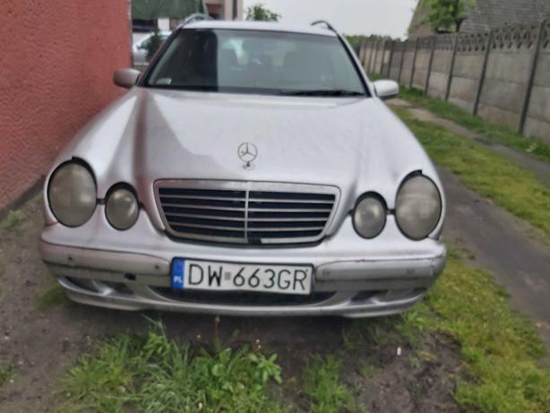 Maska,zderzak Mercedes W210 lift