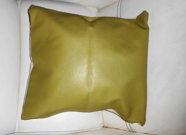 Poszewka na poduszkę z eco skórki 40 x 40